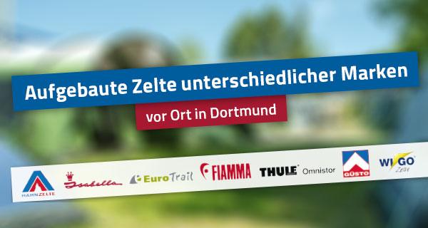 Zelteausstellung bei Hahn in Dortmund
